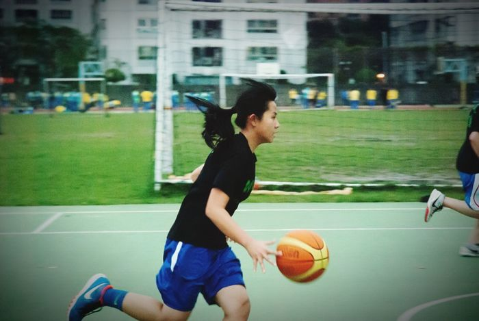Sport Eyeemsports Excercise Time Excercise Athlete Girl Young Wuling School Life  Sports Photography People Photography Basketball BasketBallneverStops