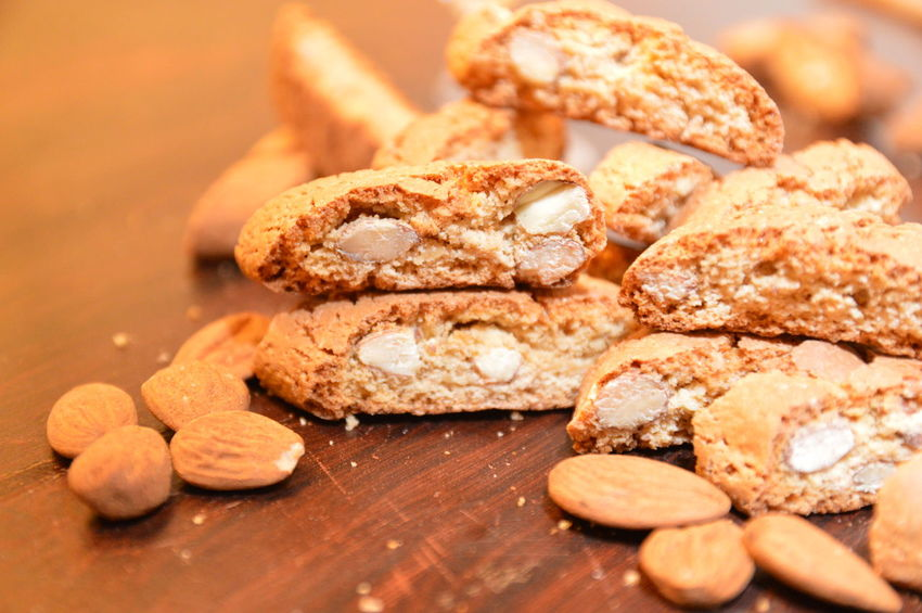 cantuccini italian cookies Sweet Food Food And Drink Food Temptation Indoors  Cookie Close-up No People Freshness Ready-to-eat