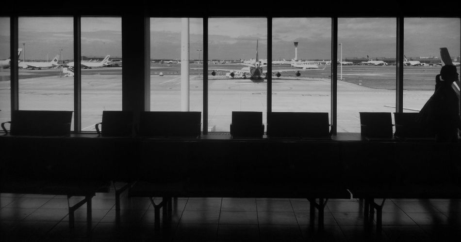 Boarding at Terminal 4 Boarding