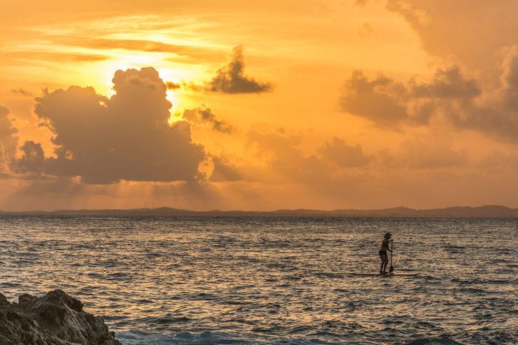 Bahia Cloud - Sky Ocean Ocean View Salvador Bahia Standuppaddle Sunset Sunset_collection