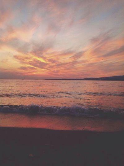 Sunset Blacksea Seaside Sea
