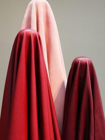 Leather EyeEm Stilllife EyeEm Design Design Object Crafts Minimal Art Minimalism Material World Coathanger Females Red Hanging Evening Gown Textile Clothing Fashion Close-up Getting Dressed