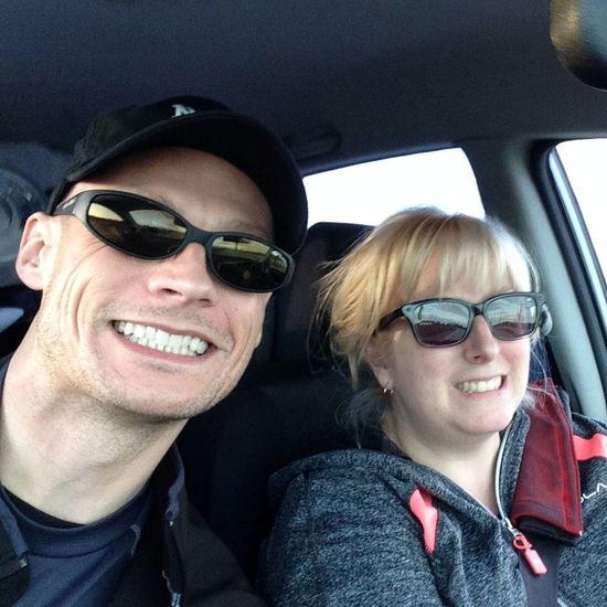 Newlyweds Selfie !