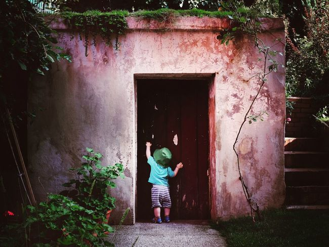 The Magic Mission Through the Door. Ankara Turkey Magic Fantasy Discovery Childhood Live For The Story