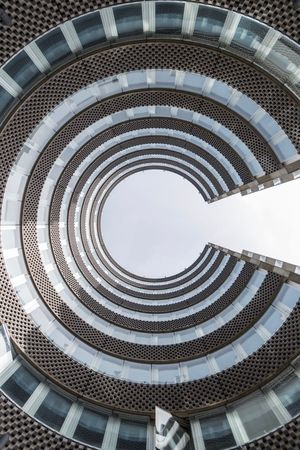 Pacman EyeEm Best Shots The Architect - 2018 EyeEm Awards EyeEm Gallery EyeEm Selects Eye4photography  EyeEmBestPics The Week on EyeEm Architecture Built Structure Pattern Spiral No People Low Angle View Building Exterior Architectural Feature