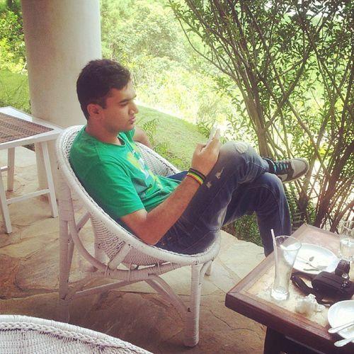 Chilling....B) Nature Greenery Chill Lunch happyMeghalayashillongvacation
