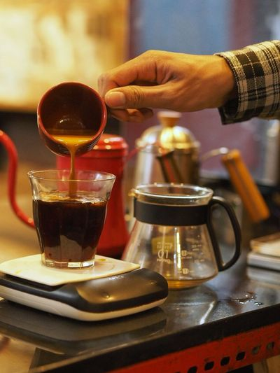 Pour the espresso RED EYE Business Stories
