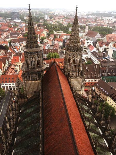 Cattedrale Campanili_nel_mondo #ulm Germania Campanile Più Alto Del Mondo