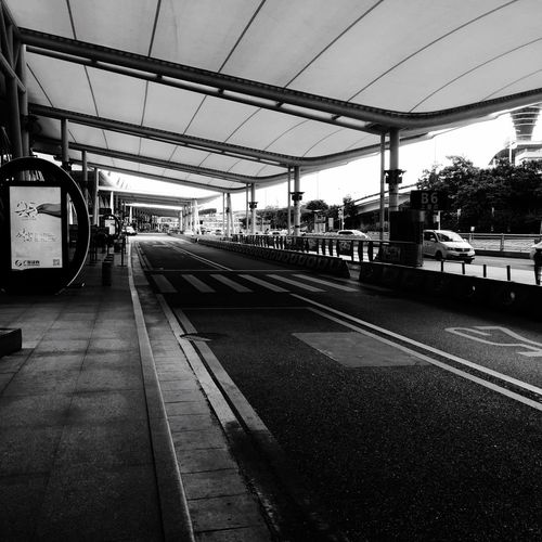 Taking Photos EyeEm Best Shots - Black + White Black & White Airport The Moment On The Road Road