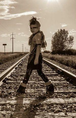 Portrait Railroad Theme