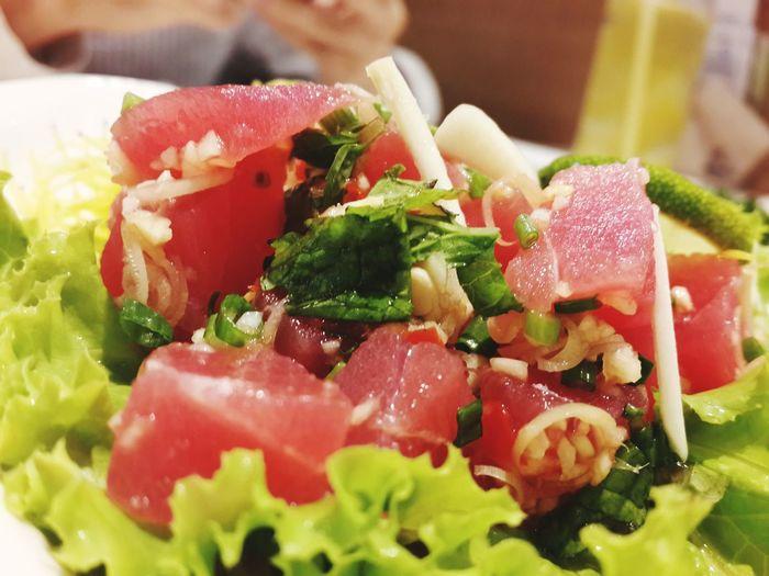 Tuna thai salad Food Yummy FUJIRestaurant