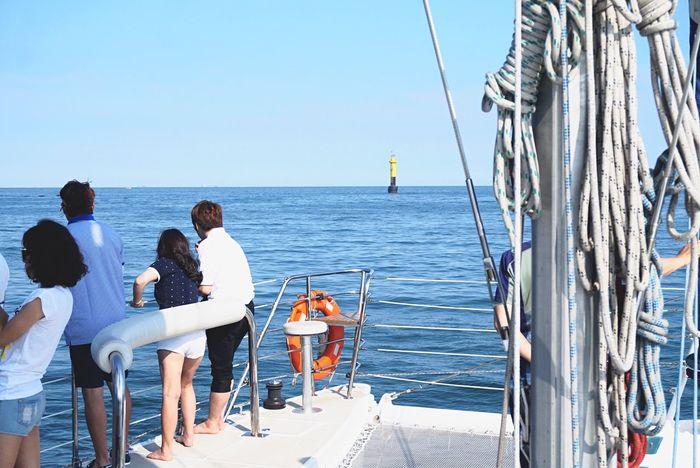 Summer Yacht People Watching Taking Photos