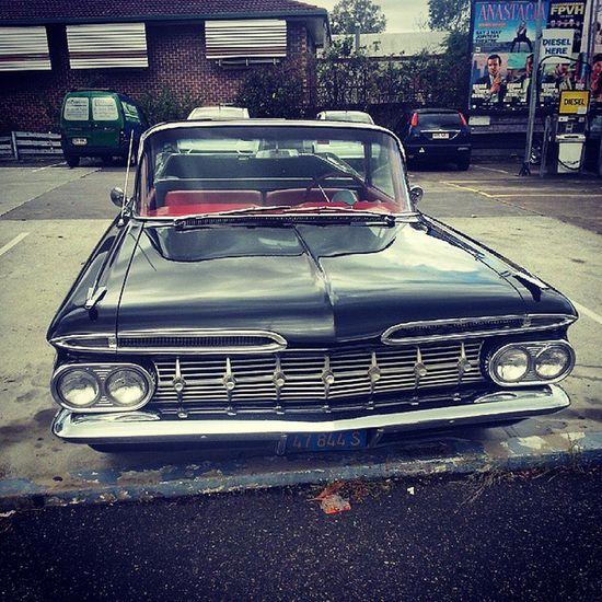 Old is gold Chevrolet Elcamino Vintagecar Vintage Brisbane Southbrisbane 1959elcamino
