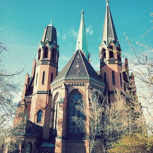 On the way in Schöneberg Berlin Igersberlin Building_shotz Apostelpauluskirche