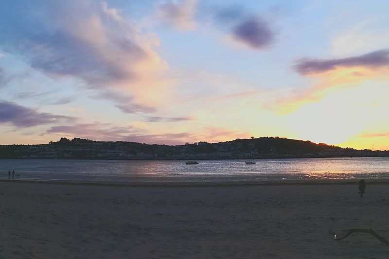 Sommergefühle Beach Tranquility Sand Landscape Dramatic Sky Summer Sky Sunset Sea Vacations Outdoors North Devon