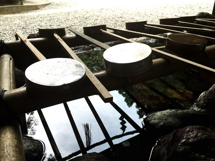 Shrine Japan Discover Your City 秋葉神社 Summertime Manners Japanese Culture Water Reflections Wash Hands