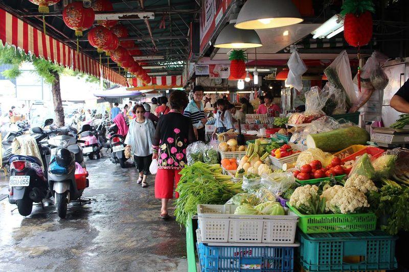 Holiday Morning Tainan City Tainan, Taiwan Day Farmer Market Food Food And Drink Lifestyles Market Men Morning Market Tainan Vegetable