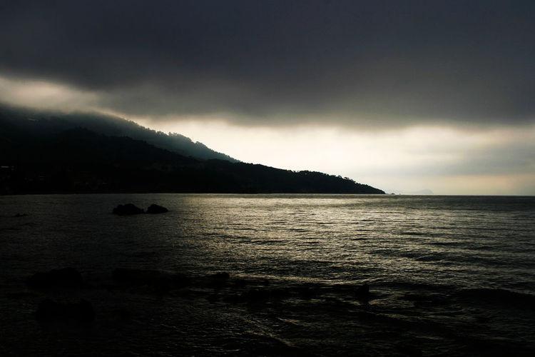 Coast near