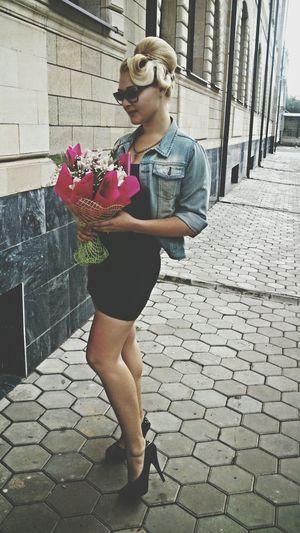 цветы Photoset  Фотосессия фотомодель