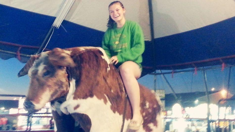 Rodeo fun!!! Yee haw!!! Bull riding!!!