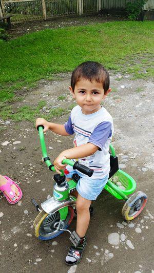On Your Bike Boy Child Baybe Bike Velosipeds Velobike EyeEmNewHere Helloworld🙌 EyeEm Best Shots Best EyeEm Shot Samtredia Color Portrait Hello ❤