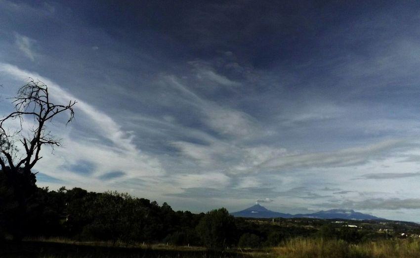 popocatepetl e iztaccihuatl volcanes de mexico desde yauhquemehcan tlaxcala Mexico Y Su Naturaleza Volcánes Popocatepet Iztaccihuatl