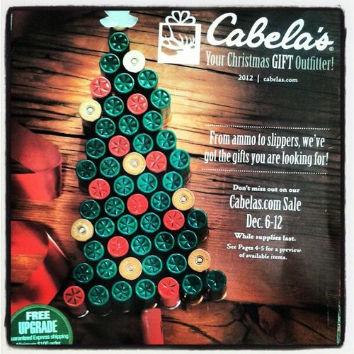 Cabelas Ammo Holiday Catalog