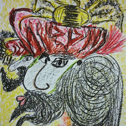 Abstractart Spirituality Drawn By Me My Art, My Soul... Intuitiveart Art World Drawing Art, Drawing, Creativity Warming The Soul SoulArt Artworks Drawingart ArtWork Intuitive Art My Artistic Style Art Gallery Spiritualguidence