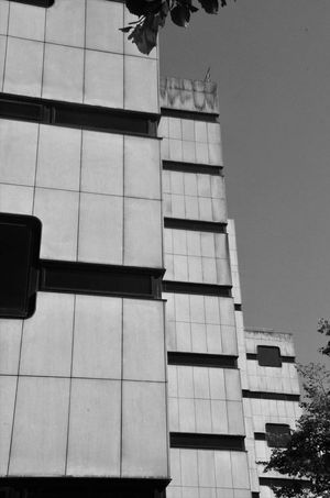 Square Apartment Architecture Black And White Black And White Collection  Black And White Photography Building Building Exterior Built Structure City Clear Sky Cubes Day Glass - Material Low Angle View Modern No People Office Office Building Exterior Outdoors Residential District Sky Tall - High Window