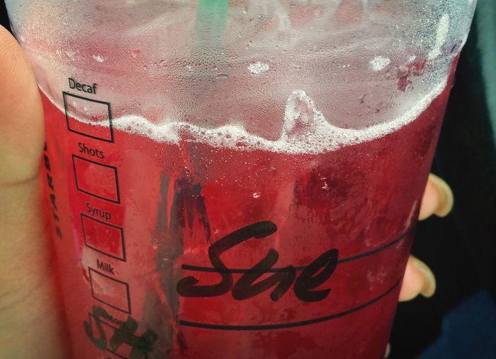 Starbuckss Passionfruittea