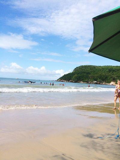 Bom dia pra quem passou o feriado renovando as energias no paraíso! Ponta Negra/RN First Eyeem Photo