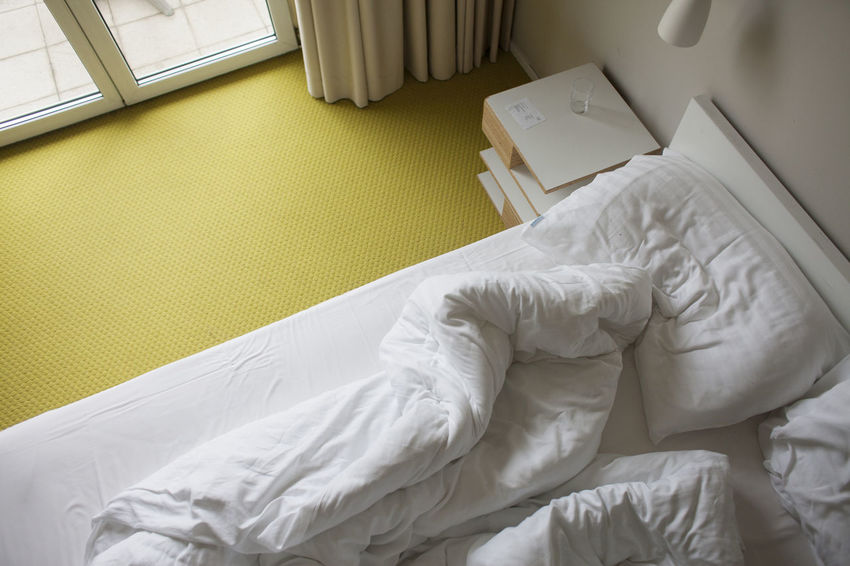 Bed Bedroom Day Home Interior Indoors  Night No People