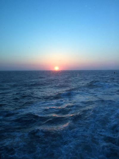 Alaska Sea Sunset Horizon Over Water Water Tranquility Scenics Beauty In Nature No People Sky