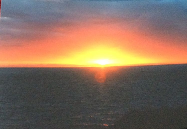 Dawn Over North Sea