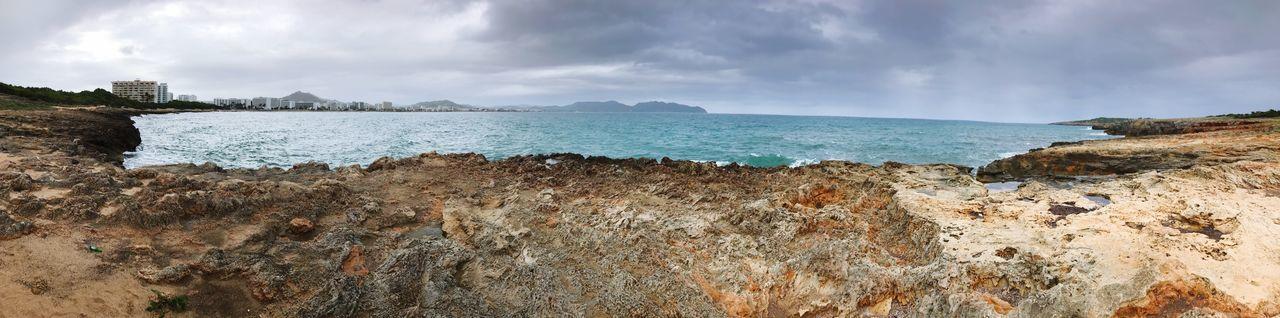 EyeEm Selects Sky Cloud - Sky Nature Beauty In Nature Scenics Rock - Object Sea