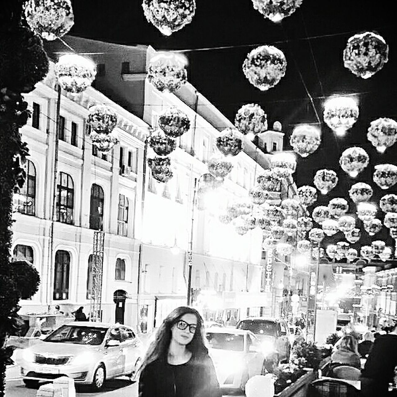 store, car, building exterior, retail, built structure, city, architecture, real people, women, lifestyles, large group of people, outdoors, night, adult, adults only, people, young adult