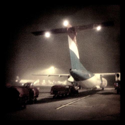 early morning at Hamburg Runway Early Morning