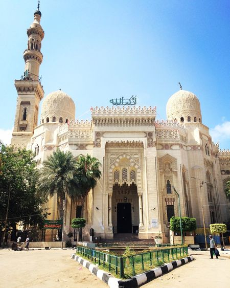 The beautiful mosque in Alexandria Mursi Abu Abass Mosque Muslim Architecture Quality Time Prayers Islamic Architecture Islamic