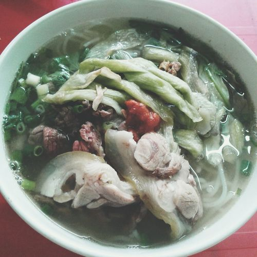 Breakfast Búndọcmùng Vietnamesefood Localfood