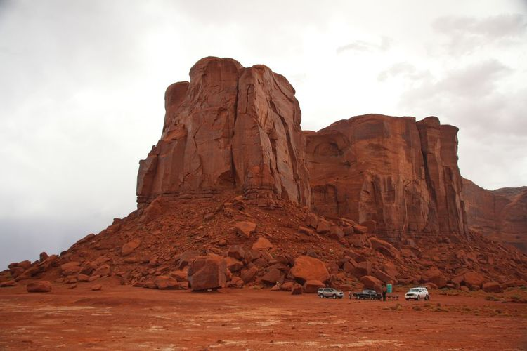 Beautiful monument valley Rock Formation Rock Sky Rock - Object Solid Cloud - Sky Physical Geography Beauty In Nature Scenics - Nature Tranquil Scene Mountain Non-urban Scene Nature Tranquility Travel Travel Destinations Geology No People Environment Formation Mountain Range Arid Climate Climate Eroded Sandstone