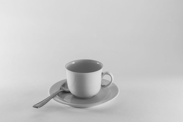 Beverage Cappuccino Close-up Coffee Coffee - Drink Coffee Cup Cup Freshness Froth Art Frothy Drink No People Refreshment Saucer Spoon Still Life Tea Cup