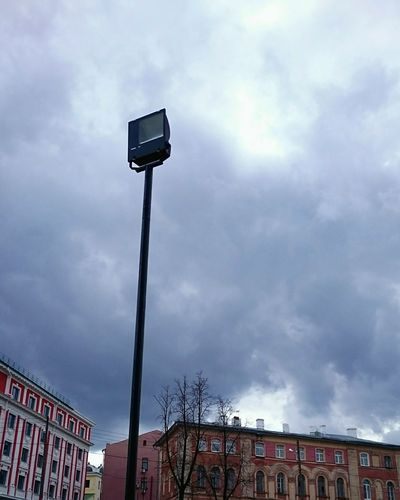 Mobilephotography Streetphotography Clouds And Sky Urban Landscape Lookingup Lamppost