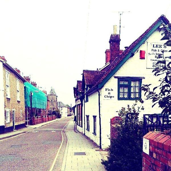 Quaint English Town Guilingham Englishcountryside Quaint  Street