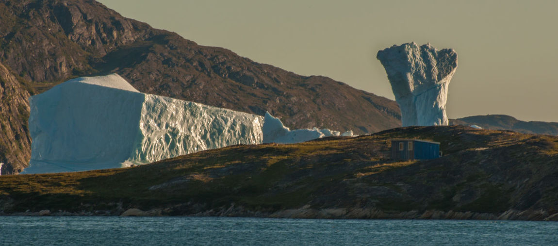 Dramatic Landscape In Greenland