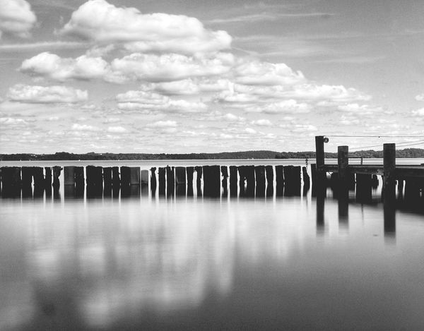 Water No People Cloud - Sky Outdoors Beauty In Nature Tranquility Magical Moments Magical Places Reflection Bestvacations Travel Destinations Happy Day Lake Schwerin Holiday Destination Relaxing Moments Longexposure Happy Germany Landscape Happy Time Travelgram Schwerin Mecklenburg-Vorpommern