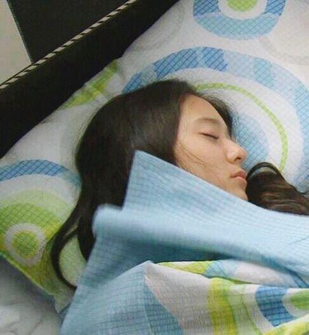 Sleeping beauty Krystal Jung