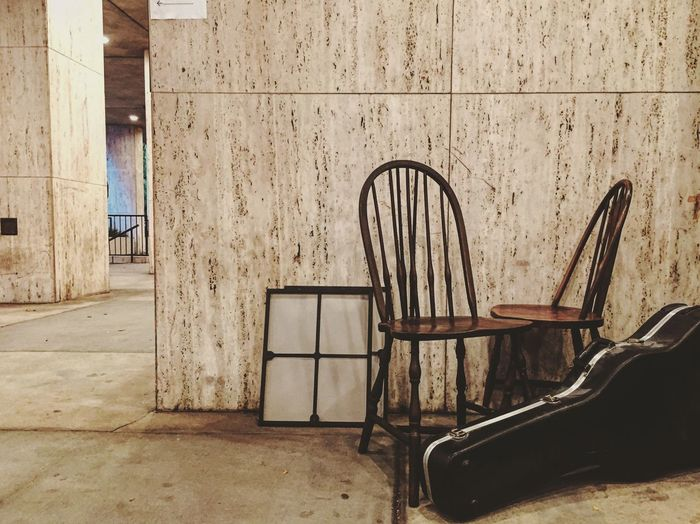 Outlook On Life Chair Simplicity Simple Things In Life Little Things Guitar Architecture Seat No People Creative Light And Shadow EyeEm Gallery New York EyeEmBestPics