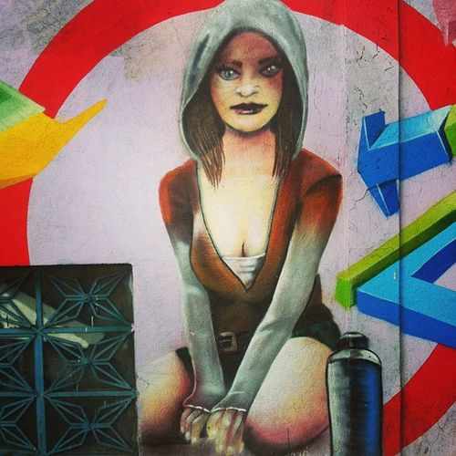 Street Art Mexico Pintura grafiti colors girl