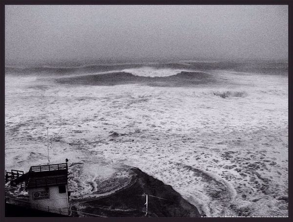 Hurricane Sandy makes shore/Long Beach NY Hurricane Sandy Seascape Photography Tidal Wave Lifeguard Station Disappearing Island Disappearing Beach Leicacamera The Photojournalist - 2016 EyeEm Awards