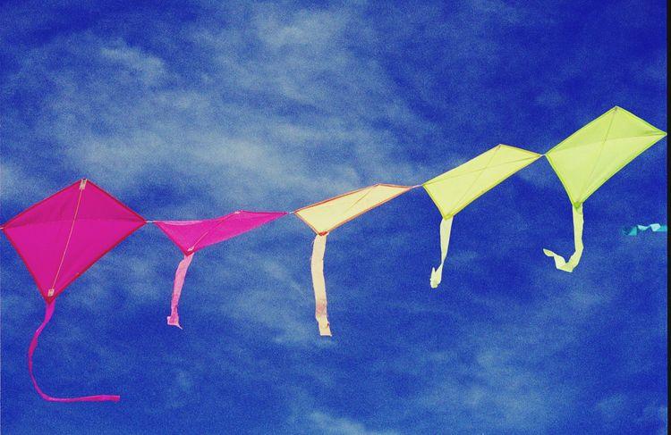 Kites Sky Blue Sky Color Palette
